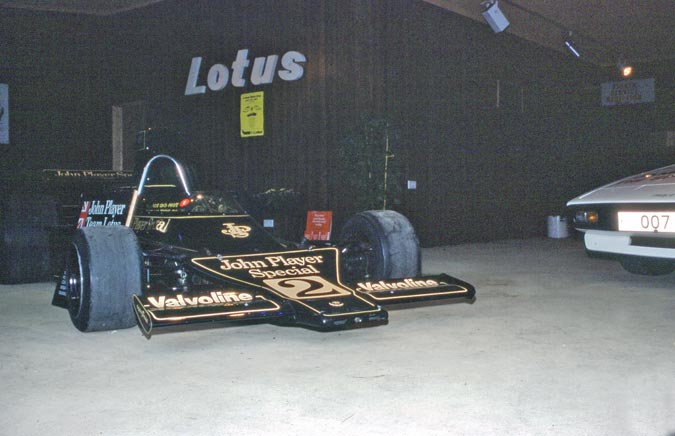 Lotus 72 F1 car. James Bond 007 Car.