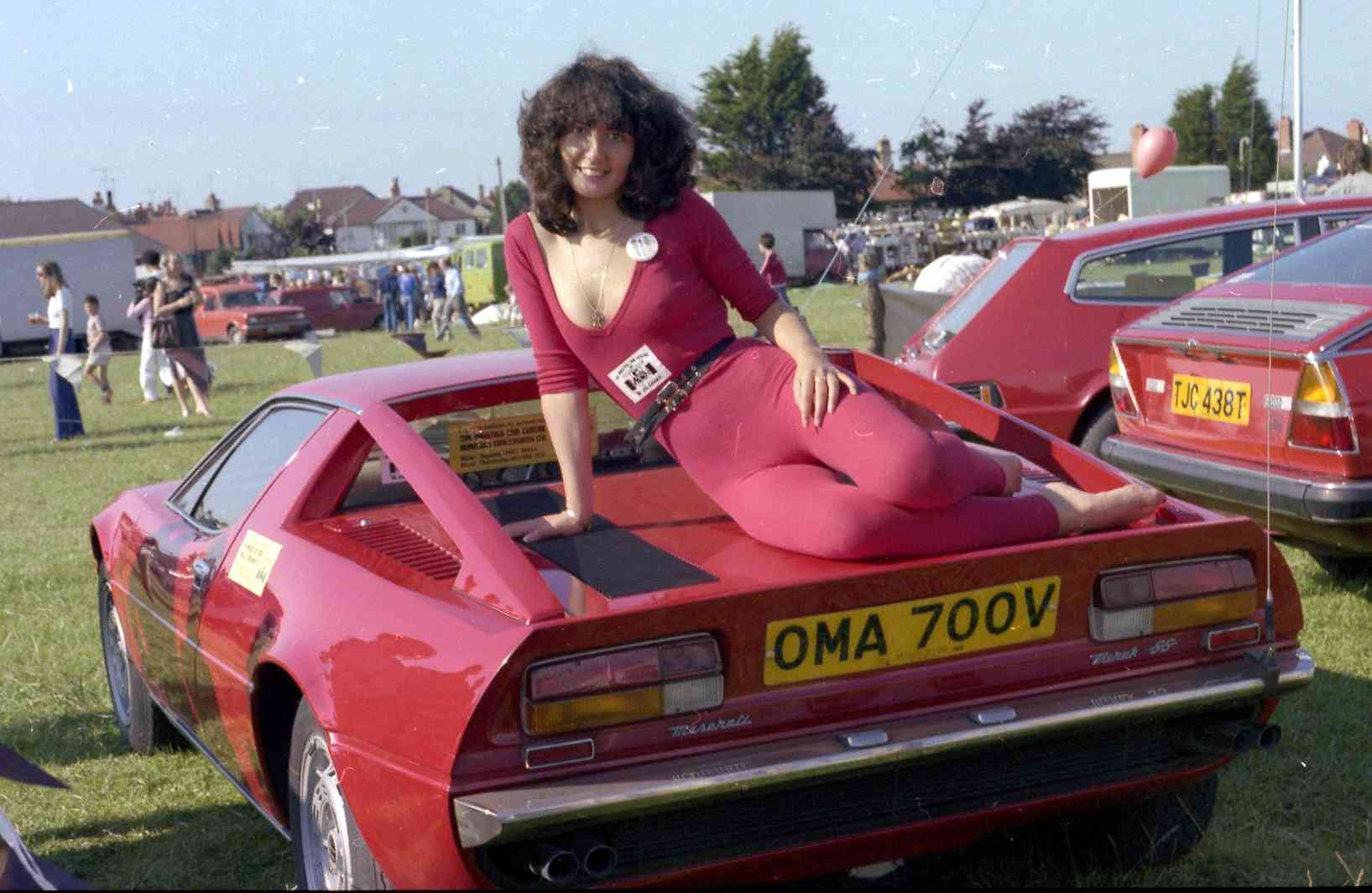 Maserati & Lancia show ground promotion North Wales