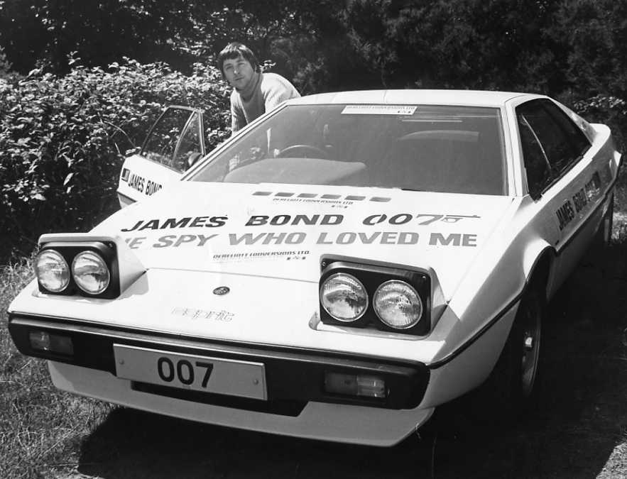 James Bond 007 Car The Spy Who Loved Me. Lotus Esprit